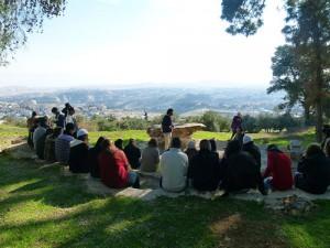 Workshops Mount of olive tour for change